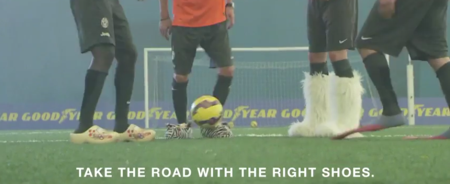 Goodyear releases informative video featuring famous football players