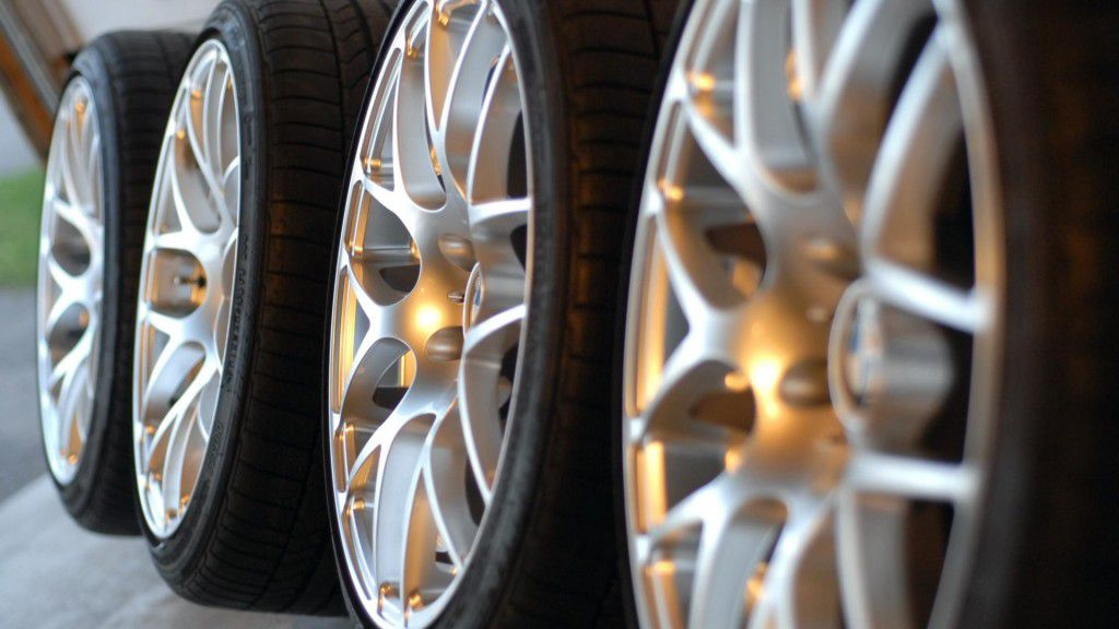 Alloy wheels and tyre upgrade
