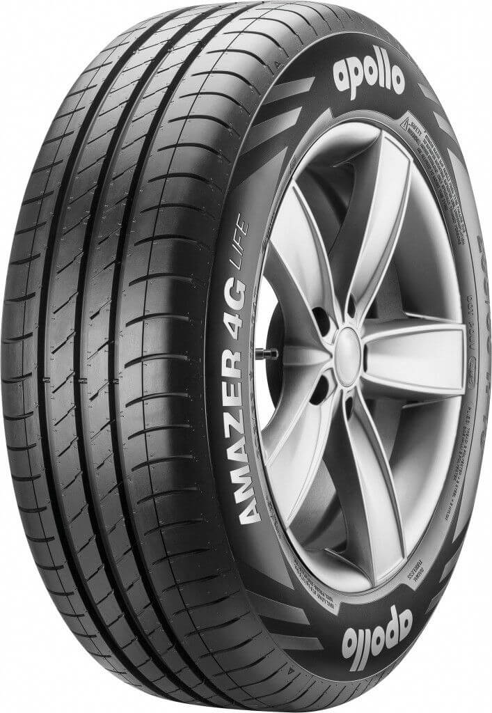 High-mileage Apollo Amazer 4G Life tyres launched in India