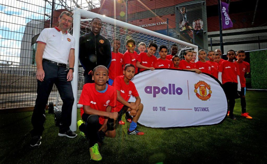 Apollo Tyres expands partnership with Manchester Utd