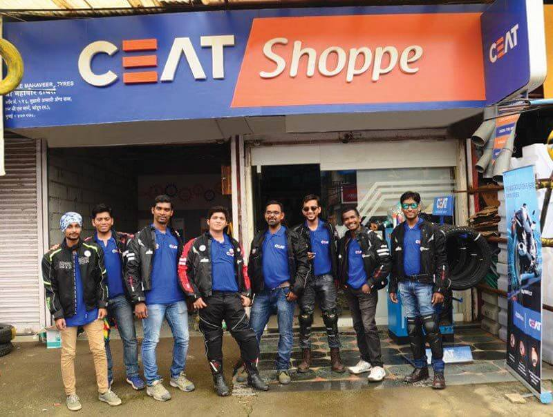Ceat road safety drive in Delhi