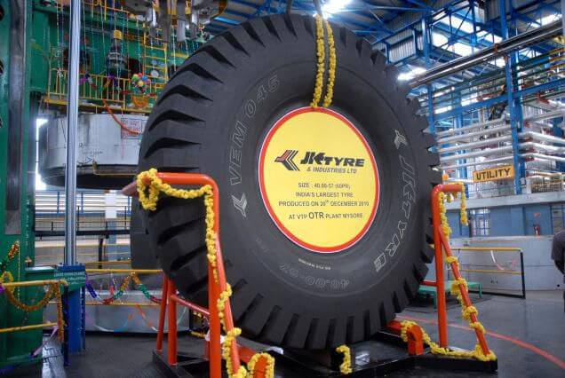 JK Tyre's OTR Business receives Silver Level certification