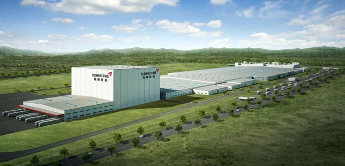 Kumho to shift tyre manufacturing unit to Pukou