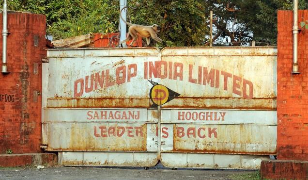 Closed operations at Dunlop India Plant