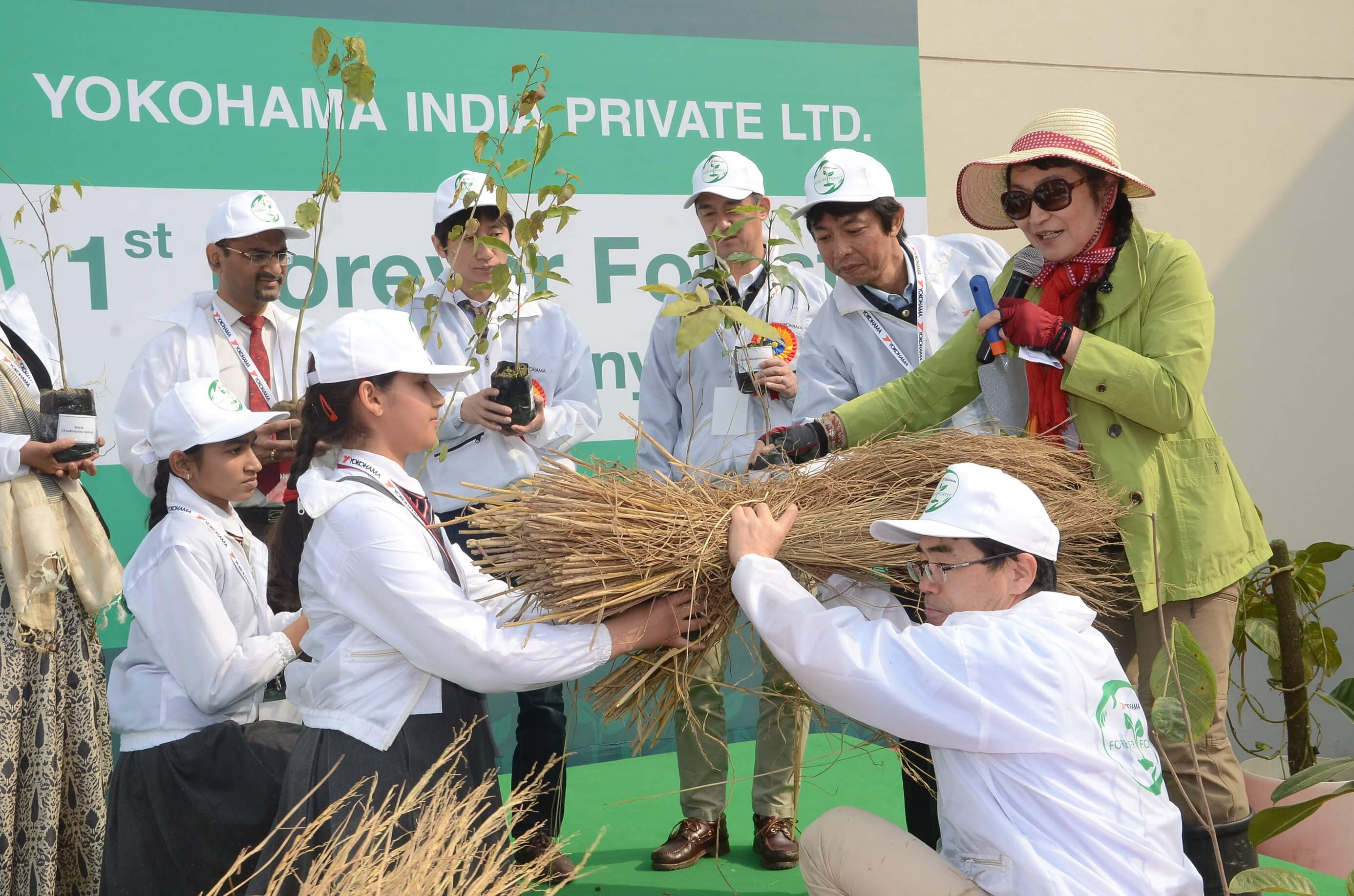 Yokohama's Forever Forest project comes to India