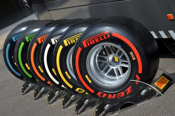 Tyre compound plays a huge role in performance