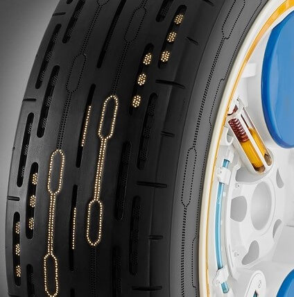 Continental Showcases Self-Inflating Tyres At Frankfurt Motor Show
