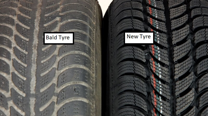 Motorists To Get Fined By Cops If Found Driving With Bald Tyres