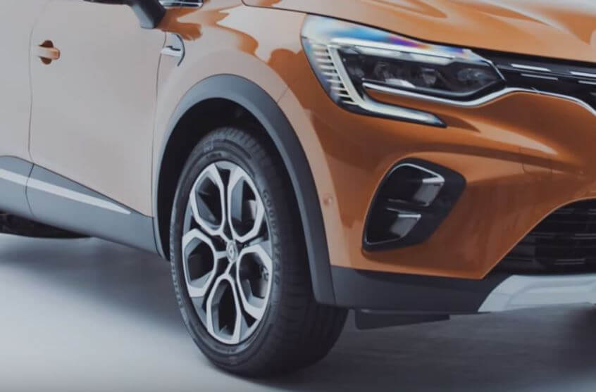 Goodyear OE On The New Renault Captur