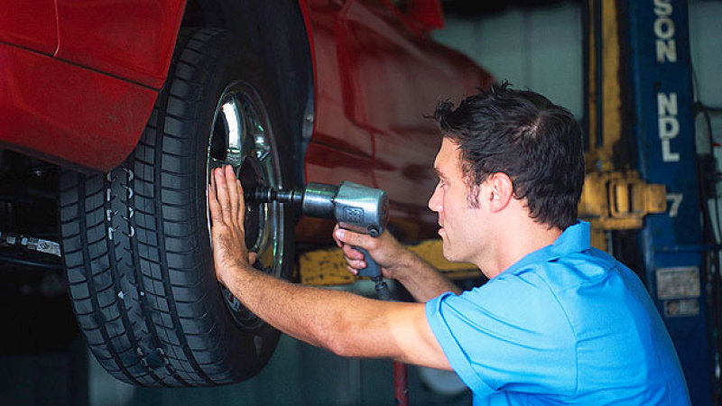mounting-of-tyre